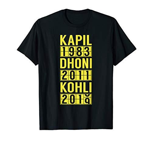 2019 Team India Cricket Fan Jersey T-Shirt