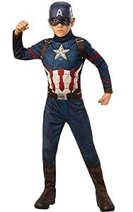 Rubies - Disfraz Oficial de los Vengadores del Capitán América para niños, Talla pequeña, Edad 3-4, Altura 117 cm
