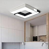Lámpara Superior Romántica Cálida Lámpara De Dormitorio En Blanco Y Negro Lámpara De Sala De Estar Creativa Led Lámpara De Techo De La Manera Moderna Simple,2