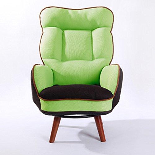 RGLRSF ZHDC® Sitzsack, hohe Rückenlehne im japanischen Stil Wohnzimmer Schlafzimmer Alter Mann Zeitungen lesen Sofa Stuhl Computerstuhl (Farbe : #3) -