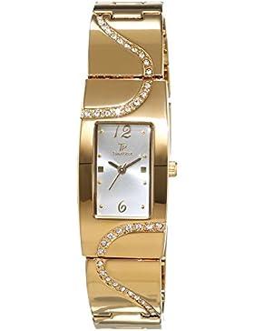 Time Piece Damen-Armbanduhr Elegance Analog Quarz Edelstahl beschichtet TPLA-90968-44M