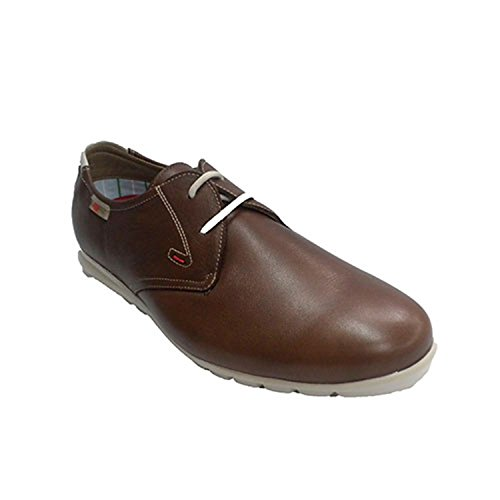 lacci per le scarpe di tipo sportivo uomo molto morbido NUPER marrone taille 44