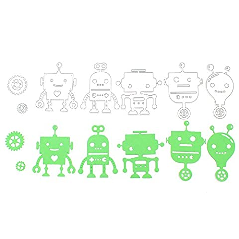 Enipate robot étage DIY Album de scrapbooking