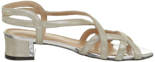 Robert Clergerie Solone, Sandales femme Beige (Madre Perla)