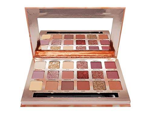W7 Socialite Indulgent Multi-Textured Pressed Pigment Palette 18 Colour Eye Shadow Palette - Multi-make-up-palette