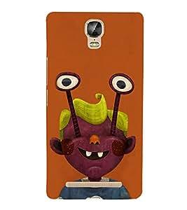 EPICCASE Freaky boy Mobile Back Case Cover For Gionee Marathon M5 Plus (Designer Case)
