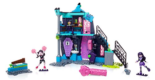 High School Fang Out Schule Play Set w/Draculaura und Elissabat Puppen (Monster High W)