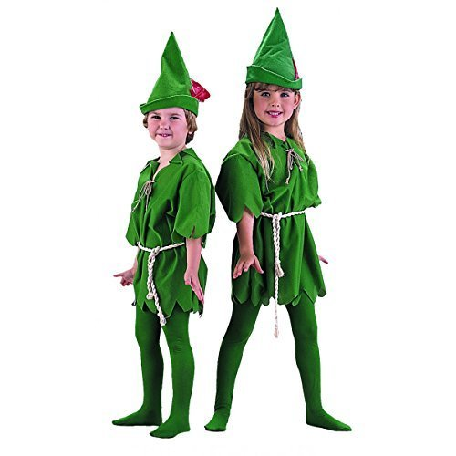 Child's Peter Pan Halloween Costume (Size: X-Small 4-6) by Brands On Sale Costumes
