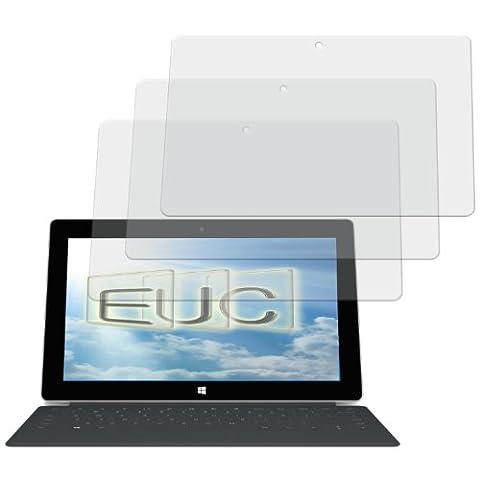 3 x Displayschutzfolie matt/entspiegelnd für Microsoft Surface 2 (RT2)