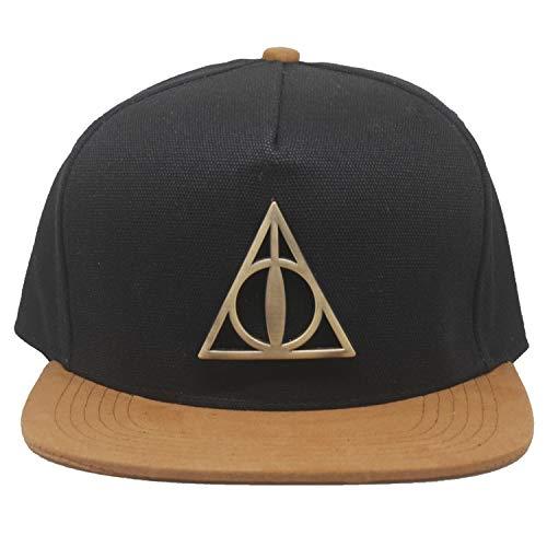 jhgyuh Harry Potter Death Hallows - Insigne en métal -...