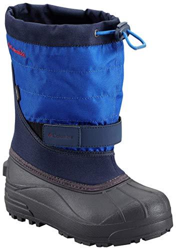 Columbia CHILDRENS POWDERBUG PLUS II Unisex-Kinder Trekking- & Wanderstiefel, Blau, 29 EU - Columbia-kinder-stiefel