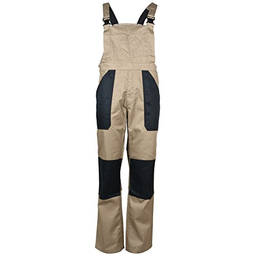 Mens TF Work Dungarees Tobacco 58