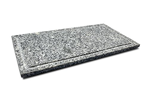kela Grillplatte aus Granit für Raclette CENERI/Ersatzplatte/Steinplatte