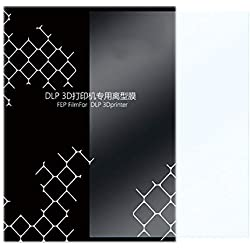 FEP Film 5 Pcs Lisse Surface 0.15-0.2mm Résine Imprimante 3D pour LCD Meilleure Transmission Lumiè Durable Filament Impresseur 140x200mm