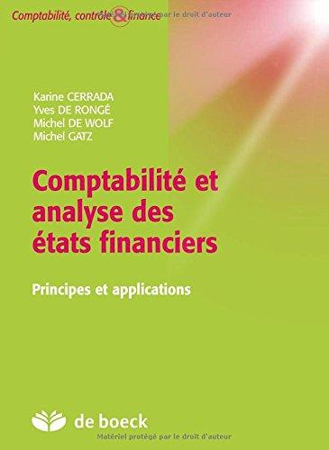 Comptabilité et analyse des états financiers - Manuel + volume d'exercices