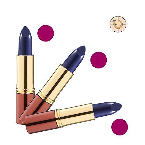 Ikos Rouge à Lèvres Lot de 3: Rouge à lèvres Intelligent DL3 bleu - aubergine