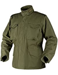 HELIKON GENUINE M65 FIELD JACKET ARMY COAT + LINER WINTER (Olive, 3XLarge)