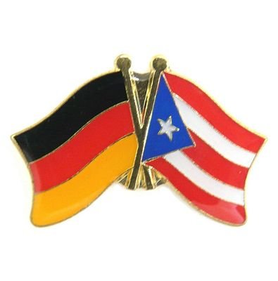 Freundschaftspin Puerto Rico Pin Fahne Flagge FLAGGENMAE® -