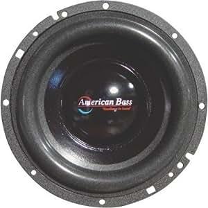 """American Xd65 basse 300 W 16,5 caisson de basses pour voiture Haute Performance Audio Sub - 6 1/2 """"Par American basse"""