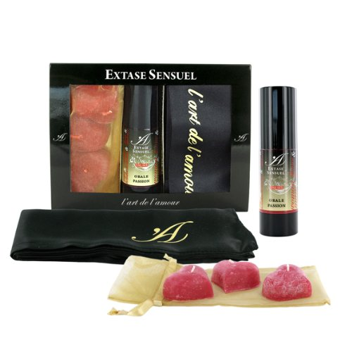 Extase-Sensuel-stimulant-unisexe-gel-de-passion-orale-fantasmes-aveugles-masque-bougies-flottantes-Extase-passion-coffret-de-orale-coffret-cadeau