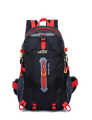 ZQ 40L L Tourenrucksäcke/Rucksack / Rucksack Camping & Wandern / Klettern / Reisen OutdoorWasserdicht / Schnell abtrocknend / Wasserdichter rose red