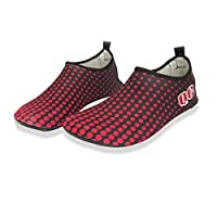 Quick Dry Men Womens Beach Shoes Dot Pattern Sports Running Anti-slip For Swimming Pool Water Game Beaches Sneakers