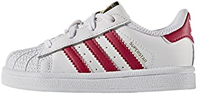 Zapatillas adidas - Superstar I blanco/rosa/blanco