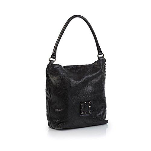 Handtasche Handtasche VLNTC Campomaggi Nero VLNTC VLNTC Campomaggi Campomaggi C4710 C4710 C4710 Handtasche Nero FTwxdF
