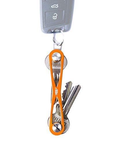 MOKEY® Key Organizer Schlüssel (bis 8 Schlüssel, orange)