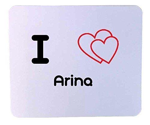 Customized mouse pad: I heart Arild (first name, last d'occasion  Livré partout en Belgique