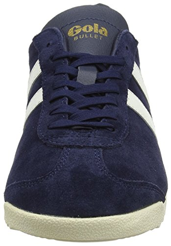 Gola Damen Bullet Suede Sneaker Blau (Navy/off White)