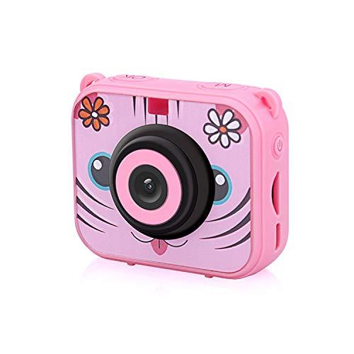 AIBAB Mini Caméra Enfant Antipoussière Et Imperméable Photographie De Sport Anti-Chute Rose