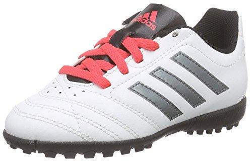 adidas Unisex-Kinder Goletto V Tf Fußballschuhe, Weiß (FTWR White/Night Met. F13/Shock Red S16), 31 EU
