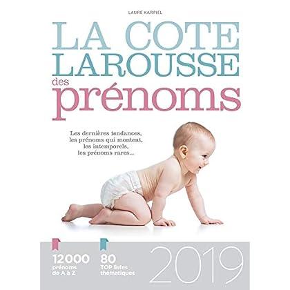 La cote Larousse des prénoms 2019