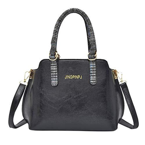 xmansky Damen Shopper Handtasche Crossbody Tasche Shell Schulter Umhängetaschen Messenger Bag,Frauen 2019 neue einfarbige umhängetasche einfache einkaufstasche mode umhängetasche -