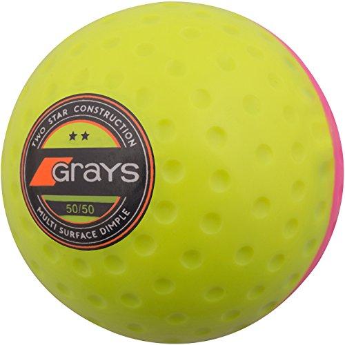GRAYS 50/50Ball Einheitsgröße pink/gelb