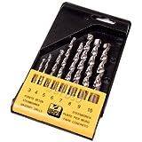 8 pièces de forets de maçonnerie Conctete brique à plat en plastique 3 DR114 10 mm