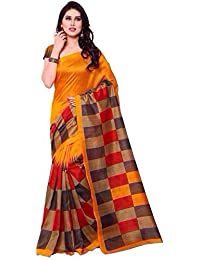 Sarees For Women Party Wear Today Best Offers Buy Online In Low Price Sale Red & Beige Color Art Silk Fabric Free...
