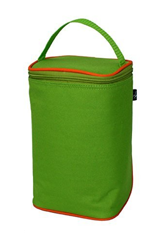 jl-childress-tall-twocool-2-bottle-cooler-green-orange-by-jl-childress
