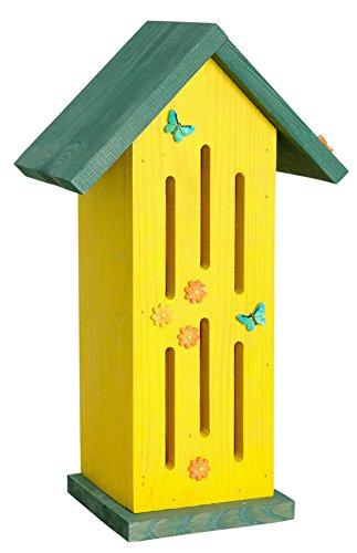 #Luxus-Insektenhotels 22111e Gelbes Schmetterlingshaus#