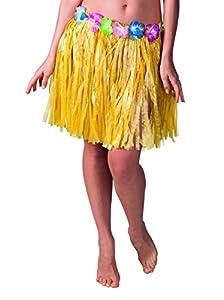 Boland 52421 - Hawaii falda, alrededor de 45 cm, un tamaño, color amarillo