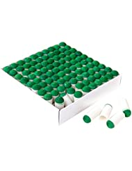 Lot 100pcs Procédés Tête de Snooker Billiard Push-on Slip-on tips