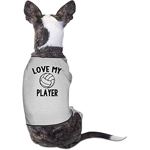 Frederih Welpen Hunde Shirts Kostüm Volleyball Spieler Haustiere Bekleidung Warme Weste T-Shirt - Spieler Kostüm Weste