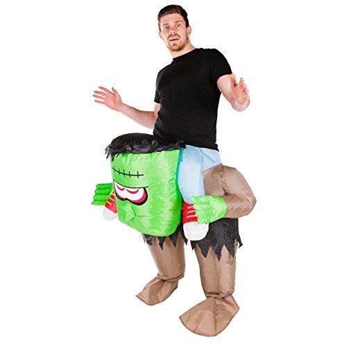 stein Halloween kostüm für Erwachsene (Frankenstein Kostüm Halloween)