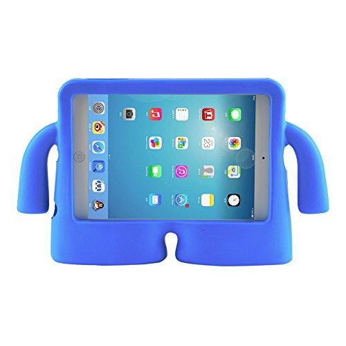 FUQUN Fall für iPad 2/3/4 Eva-Fall, Kinder Schuko Schuko EVA-Schaum-Ständer Schutzhülle (IPAD 2 3 4, BLAU) Ipad 2 3 4 Schaum Fall