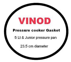 Vinod S S Pressure cooker Gasket 5Lt & Junior pan