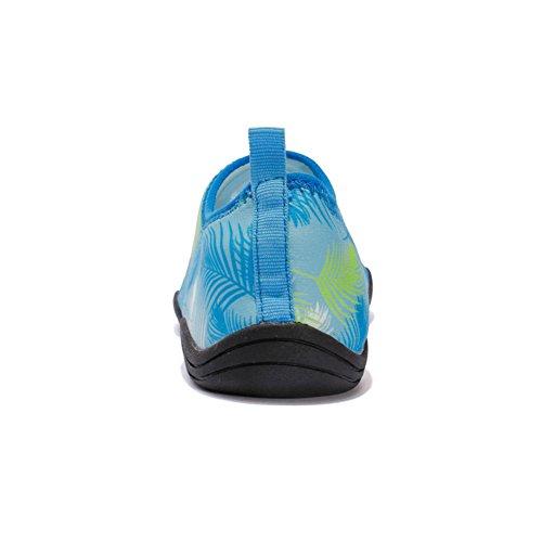 Eagsouni® Aqua Sapatos Homens Para Natação Sapatos Praia Sapatos Dos Suaves Surf De Sapatos Aquáticos Descalços Unisex Sapatos De De Adultos Azuis Badeschuhe Mulheres Esportes Do ZqYRrZEg
