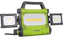 LUCECO LW50BG2-EU Projecteur de chantier LED ultra plat 50 W 5000 lm 6500 K Protection IP54 220-240 V