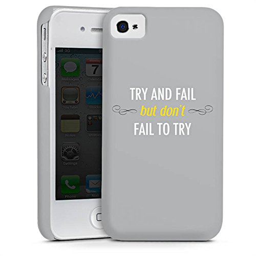 Apple iPhone 5s Housse Outdoor Étui militaire Coque Motivation Déclaration Phrases Cas Premium mat