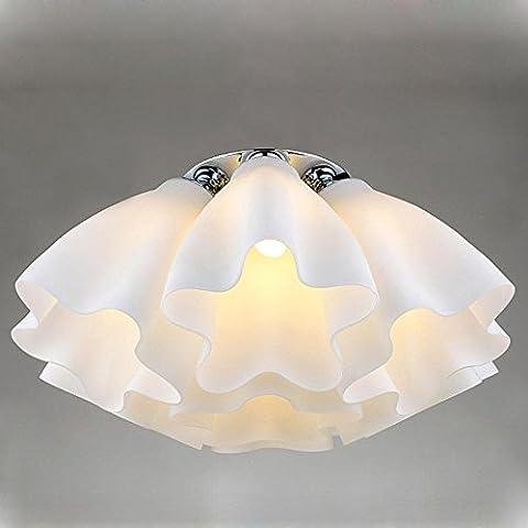 Modern Entwurf Deckenleuchte Wolke Acryl Weiß Anhänger Dekorative Leuchten LED Glühlampe Birne 5 Licht Kreativ Energiesparlampe zum Wohnzimmer Restaurant Schlafzimmer Studie Fest Fixture